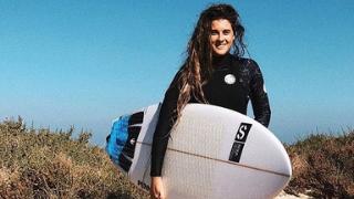 Gisela Pulido Surfer