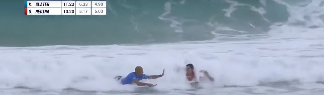 Gabriel Medina vs Kelly Slater