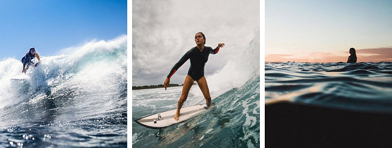 Gisela Pulido, surfera