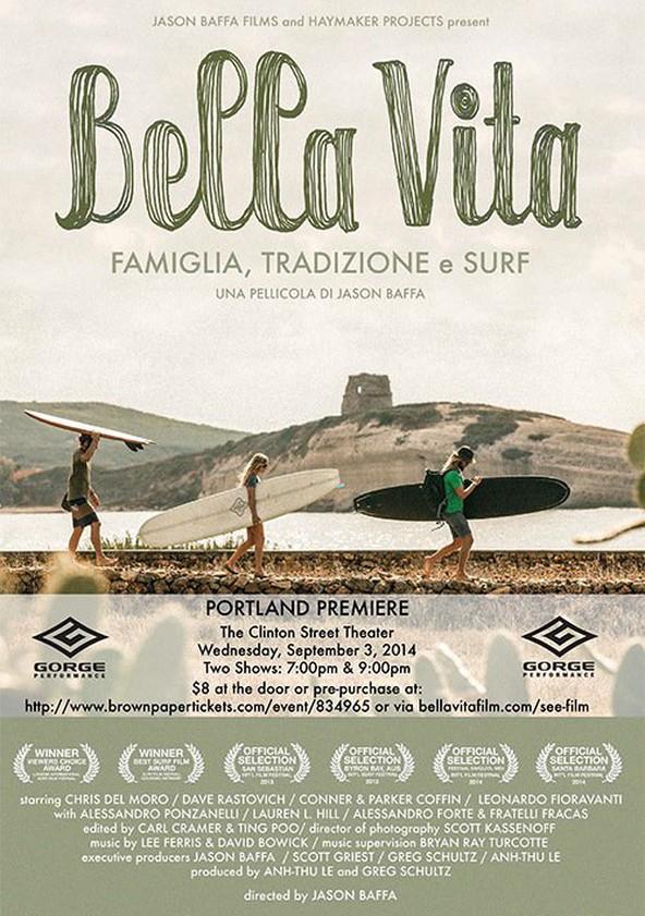 Película surf Bella Vita