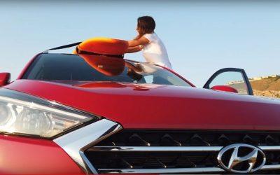 ¿Cómo llevar las tablas del surf en el coche? Hyundai Tucson