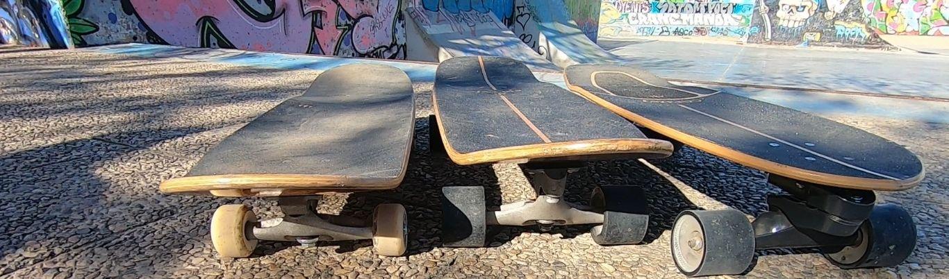 Eje C7 CX C5 Carver surfskate