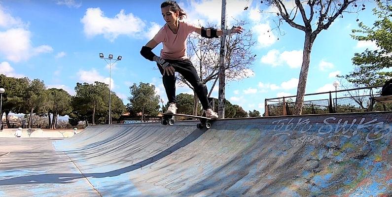 Mi primer DROP IN con el Carver Surfskate