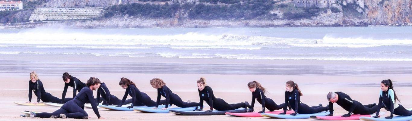 Esucela de surf en Barcelona