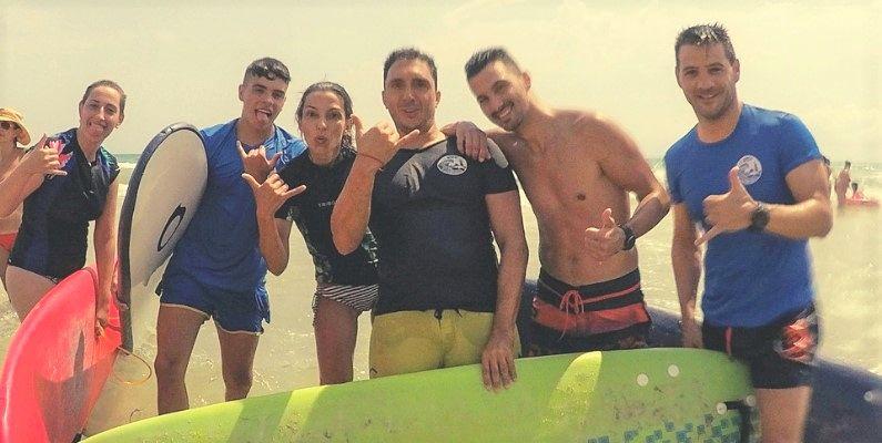 escuela de surf en alicante