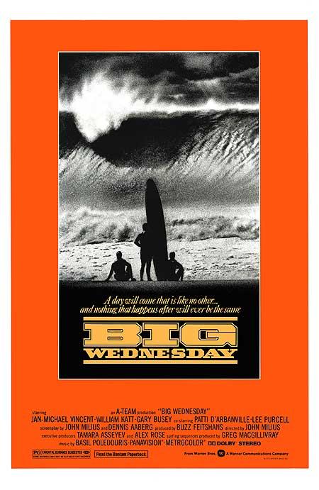 Big Wednesday pelis de Surf