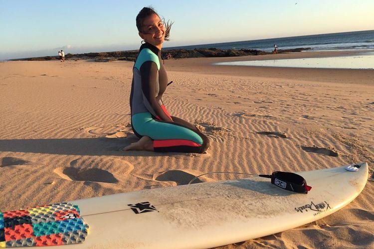 Aprender a surfear con 40 años